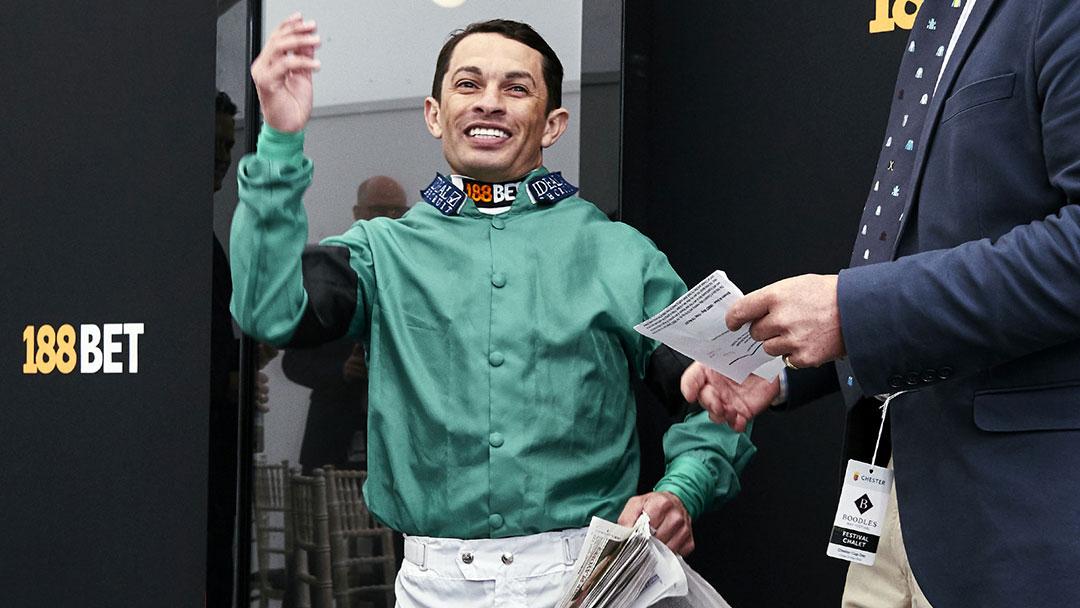 Champion Jockey Sylvestre Da Sousa